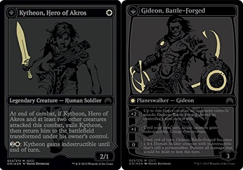 Magic The Gathering - Kytheon, Hero of Akros // Gideon, Battle-Forged (023/272) - Unique & Misc. Promos - Foil