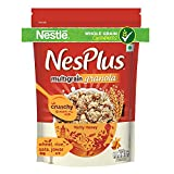A tasty, nutritious breakfast cereal for happy and healthy mornings Made with Wholegrain ingredients - Wheat, Jowar, Rice and Oats Country of Origin: India Remains crunchy and delicious even in warm milk Source of Vitamin D and Calcium as well as Iro...