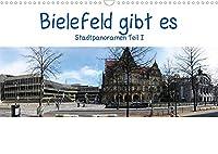 Bielefeld gibt es! Stadtpanoramen (Wandkalender 2022 DIN A3 quer): Bielefeld feiert dieses Jahr seinen 800sten Geburtstag. (Monatskalender, 14 Seiten )