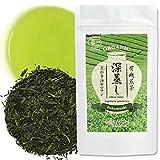 Green Tea Sencha (Fukamushi) Japanese Organic Loose Leaf Green Tea, 80g【YAMASAN】