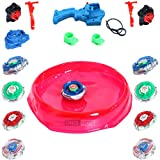 ONCEMORE New Compatible multispecial beyblades Pack of Combo Set (Stadium),Metal,Multi Color