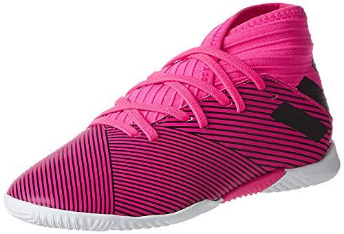 adidas Performance Nemeziz 19.3 Indoor Fußballschuh Kinder pink/schwarz, 38 EU - 5 UK - 5.5 US