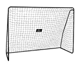 Hudora - 76128 - Jeu de Plein Air et Sport - But de Football XXL - 300 x 205 x 120 cm - Diamètre du Tube - 32/28 mm