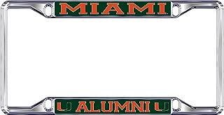 Best university of miami alumni license plate Reviews