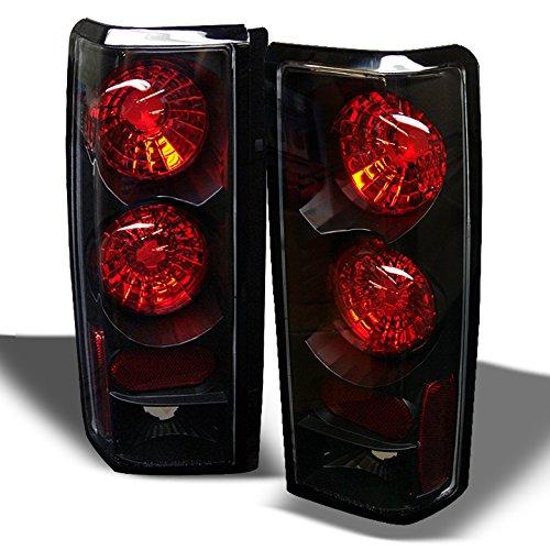 For Chevy Astro GMC Safari Van Black Bezel Tail Lights covid 19 (Chevy Astro Accessories coronavirus)
