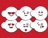 Designer Stencils Emojis Keks-Schablonen-Set C983