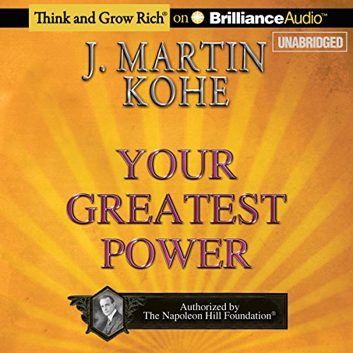Your Greatest Power audiobook cover art