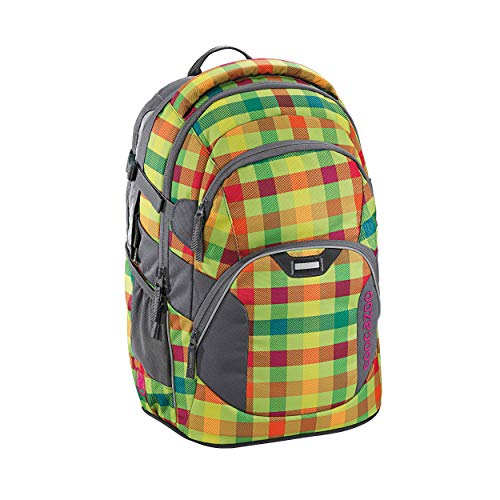 Coocazoo City and School JobJobber2 Laptoprucksack 45 cm hip to be a Square Green