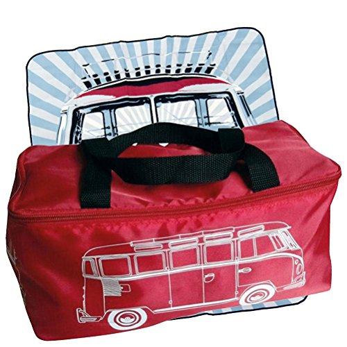 Picknickdecke Volkwagen rot