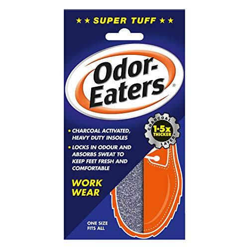 Odor-Eaters Supertuff, Odour-Destroying, Heavy duty insoles, for work wear