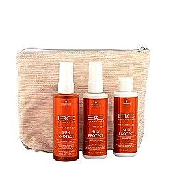 Sonnenschutz Spray für die Haare.