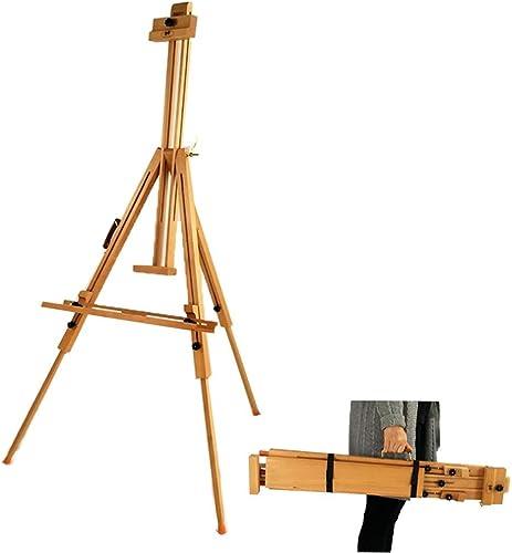 genuina alta calidad ALXLX Caballete De Madera Maciza Maciza Maciza Ajustable De 186 Cm (73 ) - Soporte De Exhibición Portátil para Pintar - Artista De Campo De Estudio para Estudiantes  el mas reciente