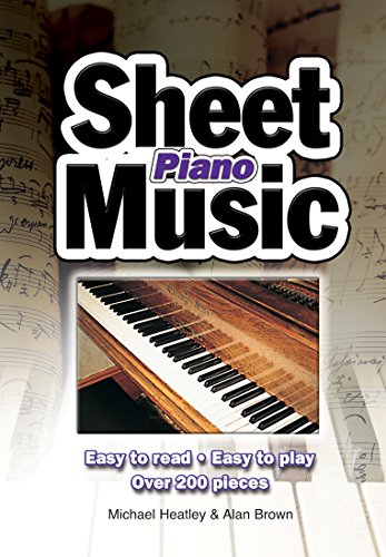 Piano Sheet Music: Easy to Read, Easy to Play; Over 150 Pieces (English Edition)
