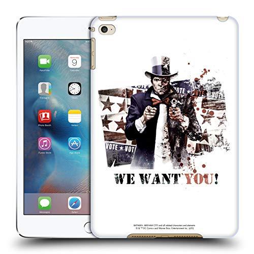 Official Batman Arkham City Graphics Coque arrière rigide pour Apple iPad, TwoFace We Want You, Apple iPad mini 4