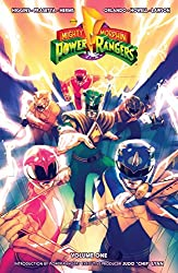 Image: Mighty Morphin Power Rangers Vol. 1 | Kindle + comiXology | by Kyle Higgins (Author), Steve Orlando (Author), Mairghread Scott (Author), Hendry Prasetya (Artist), Corin Howell (Artist), Daniel Bayliss (Artist). Publisher: BOOM! Studios (September 14, 2016)