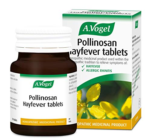 A.Vogel Pollinosan Hayfever Tablets - For the Relief of Hayfever and Allergic Rhinitis Symptoms - 120 Tablets (120)