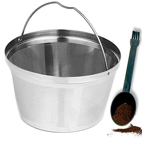 Basket 8-12 Cup Perment Coffee Filter fit for Mr. Coffee Black & Decker Coffee Makers