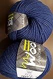 Lana Grossa - Mc Wool Merino Mix 100 - Fb. 168 zwetschgenblau 50 g