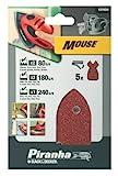 BLACK+DECKER X31024-XJ Fogli Abrasivi Assortiti per Mouse Levigatrice