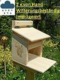 Qualität aus Niederbayern ARBRIKADREX Eichhörnchenfutterhaus Eichhörnchen Haus Kobel Futterstation