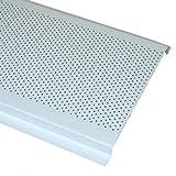 Decomesh 6' Aluminum Undereave Soffit Vent White