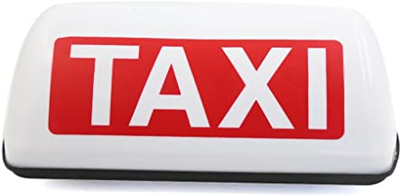 mfpower Impermeable Taxi Base magn/ética Roof Top Car Cab LED L/ámpara de luz de se/ñal