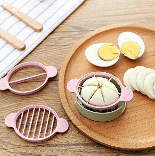 WYFC Oeufs de créatif multi-fonctions œuf divisé œufs fantaisie ouvert œufs séparant l'appareil (couleurs aléatoires)