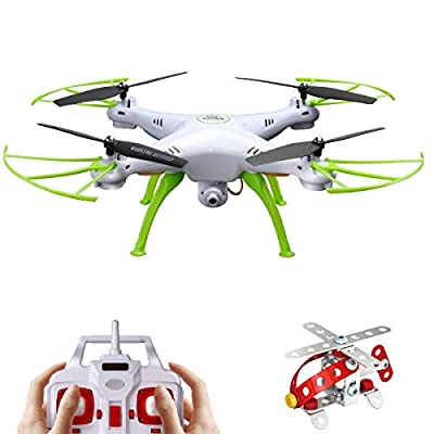 Drone with Camera Syma X5HW Stable RC Quadcopter Wifi FPV Remote Control Toy, 2.4Ghz 4CH Altitude Hold and 360 Flips