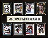 NHL Martin Brodeur New Jersey Devils 8 Karten Plakette -