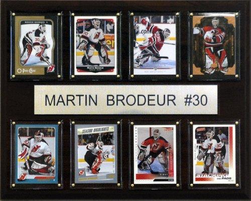 C & I Collectables NHL Martin Brodeur New Jersey Devils 8 Karten Plakette