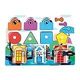 Montessori Latch Toy Toddler Desarrollar la Motricidad Hebillas Consejo para Niños de 2 a 4 años Aprendizaje de la resolución de problemas educativos, regalo para el Día de los Niños