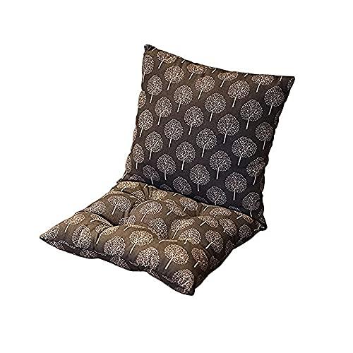 CGDX Cuscino per Esterno, Cuscino Decorativo per Sedia/Cuscino per Sedile da Giardino Cuscino per Sedia Quadrato da Pavimento in Poliestere Imbottito per Sedia da Pranzo Ufficio 40 * 80 cm