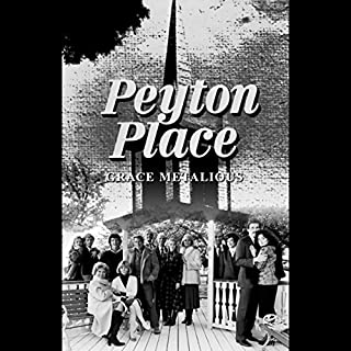 Peyton Place                   By:                                                                                                                                 Grace Metalious                               Narrated by:                                                                                                                                 Tim O'Connor                      Length: 16 hrs and 41 mins     215 ratings     Overall 4.3