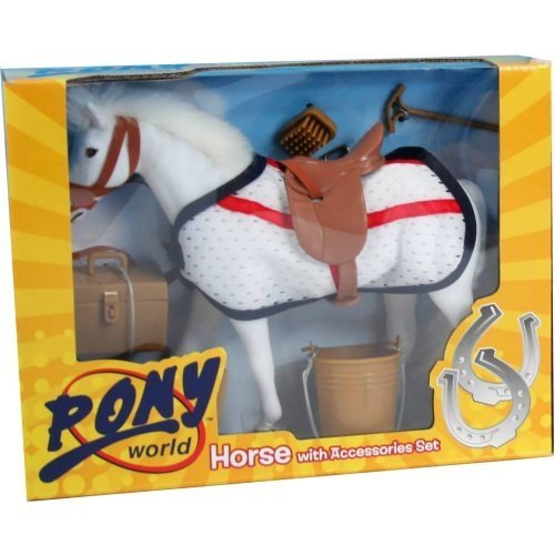 Pony World 1002 - Horse with Accessory Set