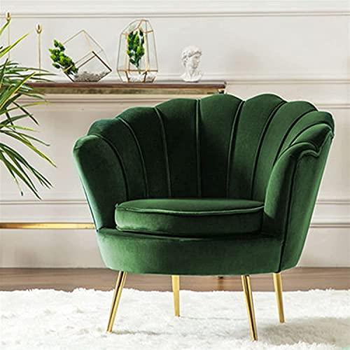 NFRMJMR Lämplig för inomhus vardagsrum Bäddsoffa Hemmöbler Modern Minimalistisk soffa Ljus Lyx Singel Sofa Nordic Lazy Liten Lägenhet Fåtölj (Färg: Röd, Typ: Två platser)