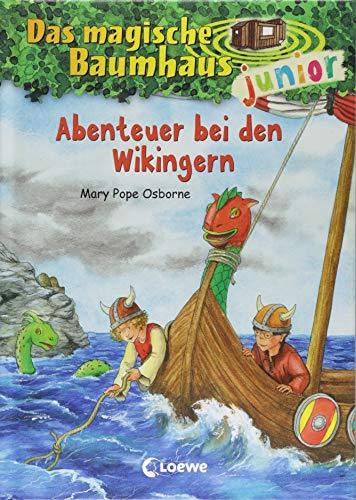 Das magische Baumhaus junior 15 - Abenteuer bei den Wikingern: Kinderbuch zum Vorlesen und ersten Selberlesen - Mit farbigen Illustrationen - Für Mädchen und Jungen ab 6 Jahre