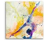 Turnen IV 60x60cm Wandbild SPORTBILD Aquarell Art Tolle