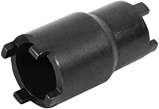 Best 2-in-1 Lock Nut Wrench Clutch Lock Nut Tool, 20mm/24mm clutch lock nut spanner socket for Honda Crf 600rr 450r 250l Review