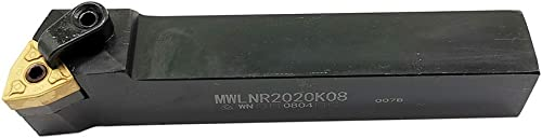 """popular ASZLBYM 3/4"""" Right Cutting Lathe Indexable Turning new arrival Tool Holder MWLNR2020K08 with WNMG432 new arrival Carbide Turning Insert online sale"""
