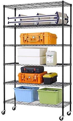 IRIS USA OWR-600N 3-Shelf Wide Open Wood Shelving Unit, Natural