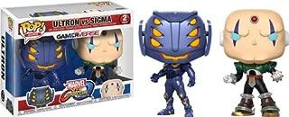 Funko POP! TV: Marvel Vs Capcom - Ultron Vs Sigma Collectible Figure