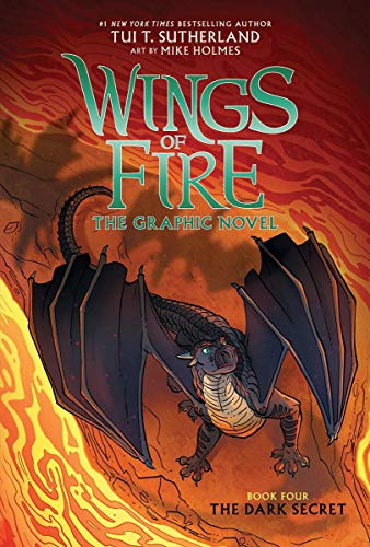 The Dark Secret (Wings of Fire Graphic Novel #4): Graphix Book (4)