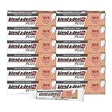 Blend-a-dent Plus Premium-Haftcreme Krümelschutz, 12er Pack (12 x 40 g)