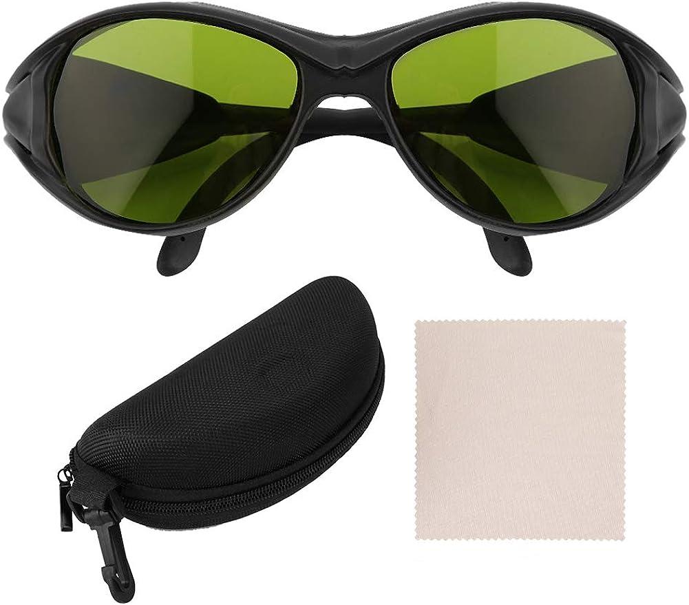 Sonew Gafas de seguridad para la protección de los ojos anti-UV, Gafas de seguridad para mujeres y hombres con lentes de policarbonato de protección anti-impacto, antirrayas OD5 200nm--2000nm