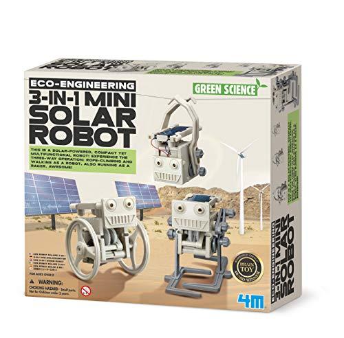 4M-3-In-1 Mini Solar Robot Robotica (00-03377