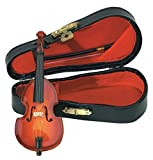 Gewa 980620 Instrument miniature Contrebasse avec Archet/Etui 11 cm