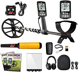 Minelab Equinox 800 Multi-IQ Underwater Waterproof Metal Detector & Pro Find 35