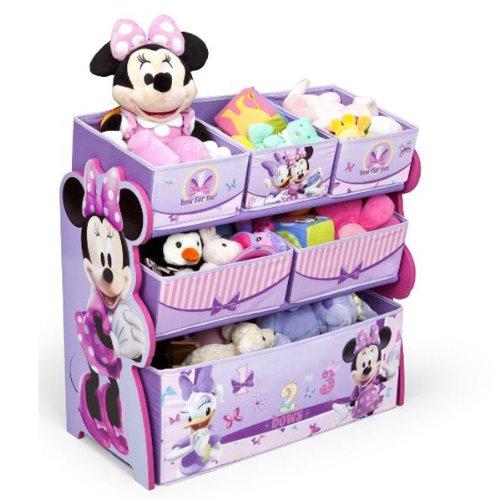 デルタ ディズニー ミニーマウス マルチ おもちゃ箱 子供 女の子 3-6歳