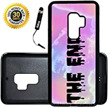 Custom Galaxy S9 Plus Case (Pastel Goth The End) Edge-to-Edge Rubber Black Cover Ultra Slim | Lightweight | Includes Stylus Pen by Innosub