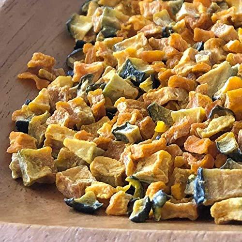 九州産 乾燥かぼちゃ《ダイスカット》 (100g) 国産 乾燥野菜 長期保存 非常食 みそ汁の具